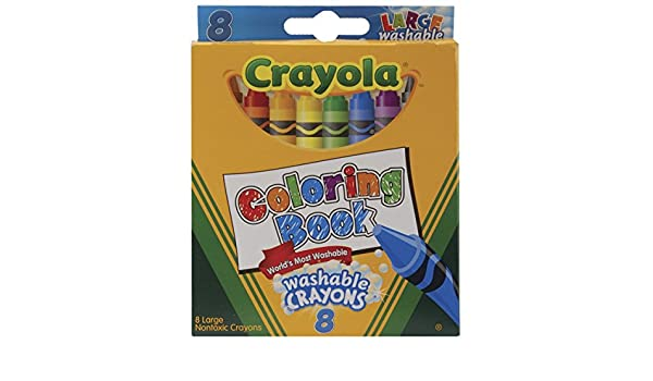 Coloring Book And Crayons In Bulk : Amazon.com: bulk buy: crayola coloring book large washable crayons