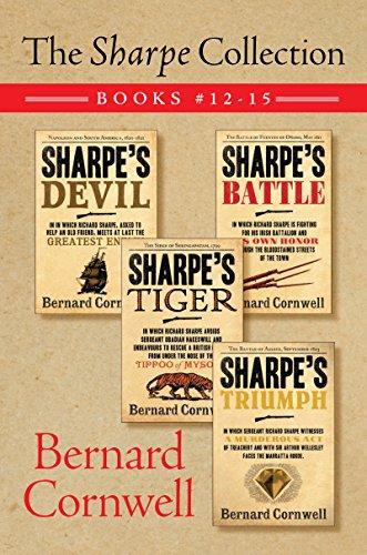 The Sharpe Collection: Books #12-15: Sharpe's Devil, Sharpe's Battle, Sharpe's Tiger, and Sharpe's Triumph