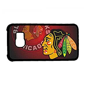 Generic Funny Phone Case For Teen Girls For Samsung Galaxy S6 Print With Nhl Chicago Blackhawks Choose Design 5