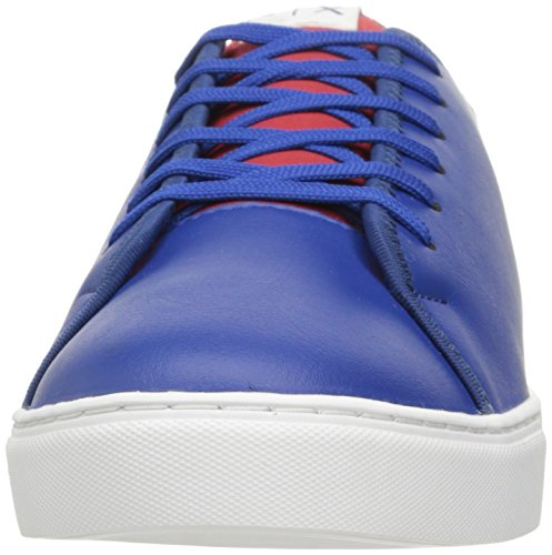 A Lace Pu Red Sneaker X Exchange Fashion Armani Armani Men Deep White Exchange Lycra Blue rrT8q