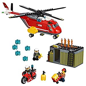 LEGO CITY Fire Response Unit 60108 by LEGO LEGO