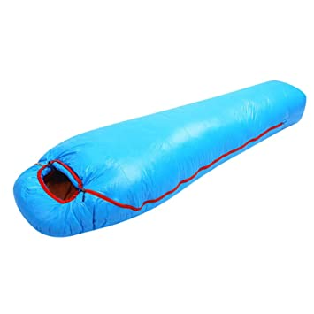 WTDlove Saco de Dormir Ultraligero Puede al Aire Libre es con Paneles de Plumas Blanco Pato 1000g Saco de Dormir Adecuado para Camping Turismo OU ...