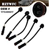 HZTWFC 5Pcs Front Rear Brake Pad Wear Sensor Indicator Wires Compatible for Mercedes-Benz W211 W204 W221 S320 OEM # 1715400617