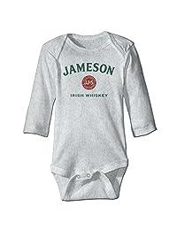 Ahunesa Jameson Beer Irish Whiskey Unisex Infant One Piece Babysuit