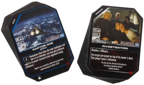 WizKids Collectible Card Game Battlestar Galactica 2-Player Starter Set
