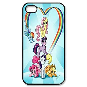Unique Design -ZE-MIN PHONE CASE For Iphone 4 4S case cover -My Little Pony Design Pattern 15