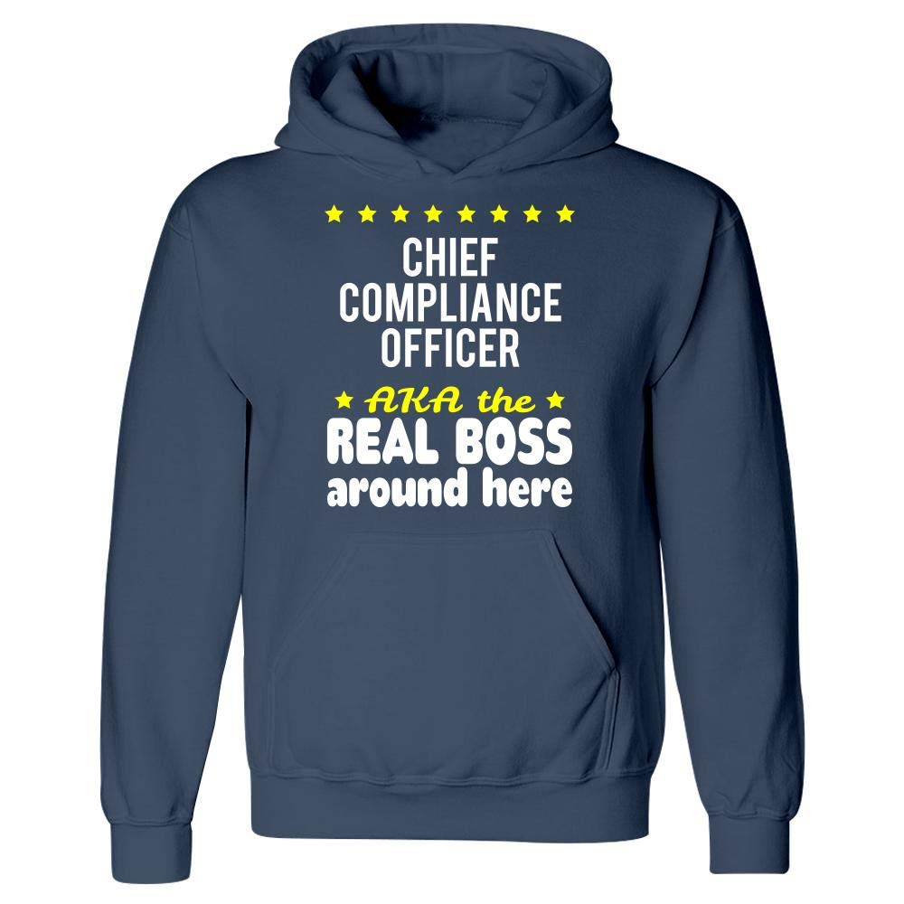 Chief Compliance Officer AKA The Real Boss Around Here Hoodie