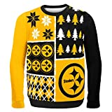 Pittsburgh Steelers Busy Block Ugly Sweater Double Extra Large
