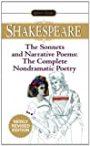 The Sonnets and Narrative Poems, William Shakespeare, 0451530896