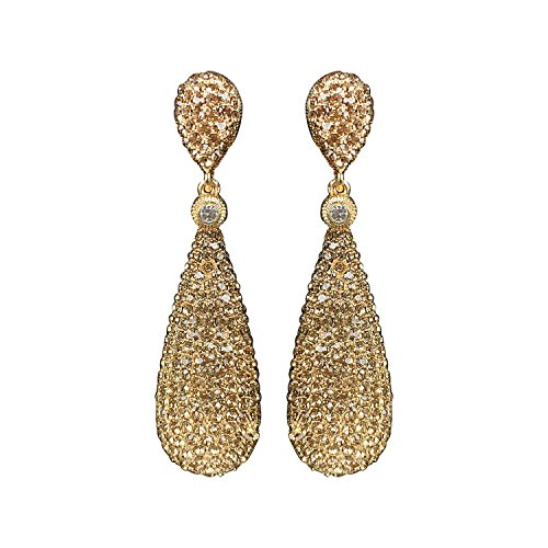 Gold Golden Earrings - 4