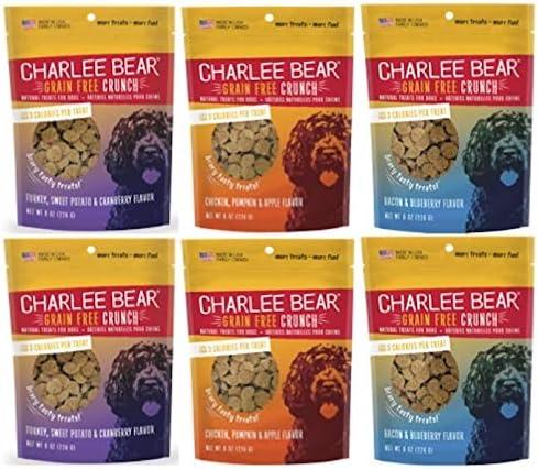 Charlee Bear Bear Crunch Variety Pack 6 Pack , 8 oz