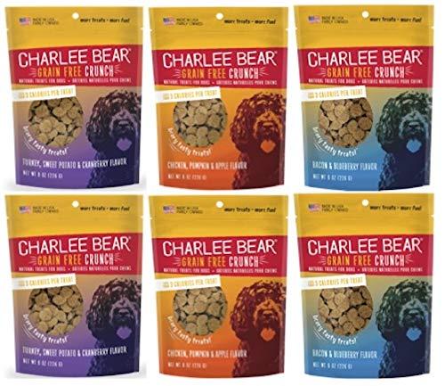- Charlee Bear Bear Crunch Variety Pack (6 Pack), 8 oz