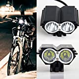 Bike Light - Richasy 2000 Lumens CREE XM-L T6 2LED 4 Modes Waterproof
