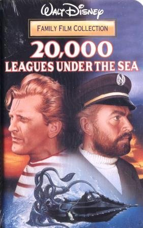Amazon.com: 20,000 Leagues Under the Sea [VHS]: Movies & TV