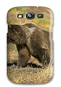 Galaxy Case - Tpu Case Protective For Galaxy S3- Grizzly Bears