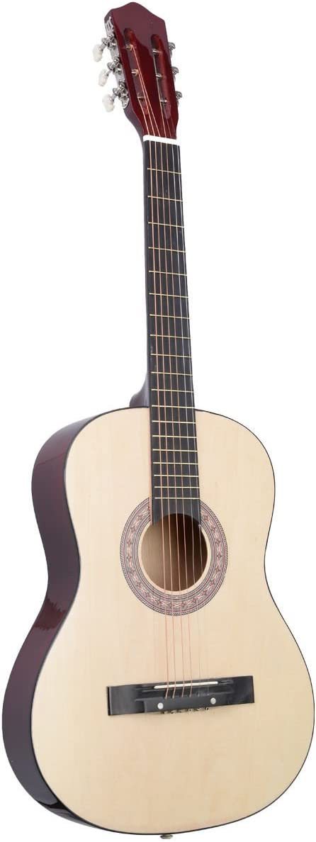 Super comprar 38 pulgadas guitarra acústica con funda para ...