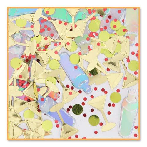 Beistle CN034 Martini Bar Confetti ()