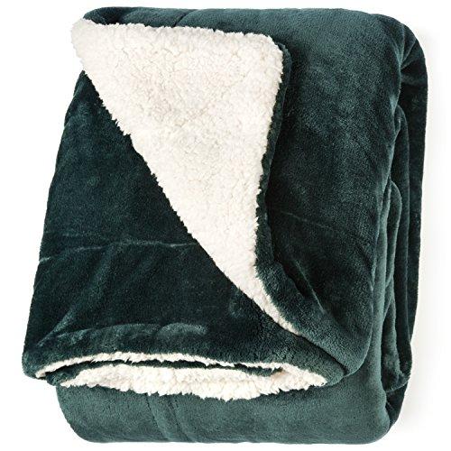 Green Sherpa - Life Comfort Microfiber Plush Polyester 60