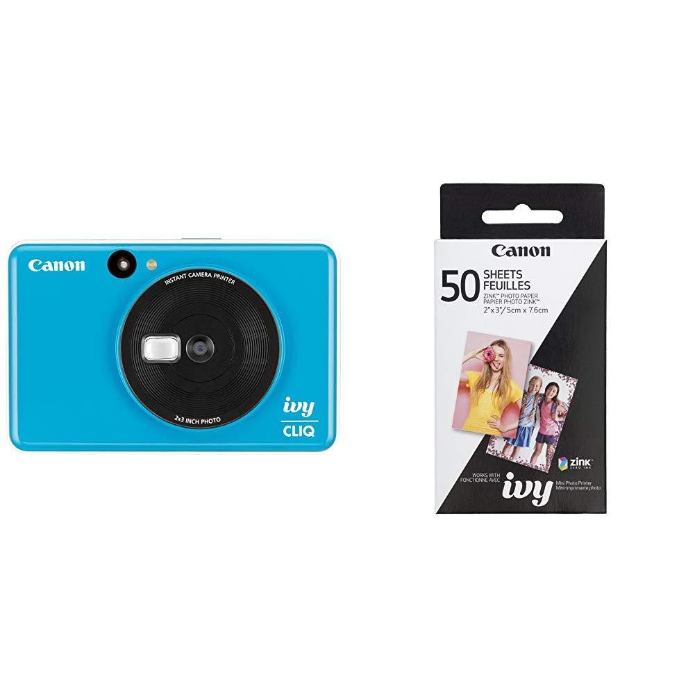 Amazon.com : Canon Ivy CLIQ Instant Camera Printer Mobile ...