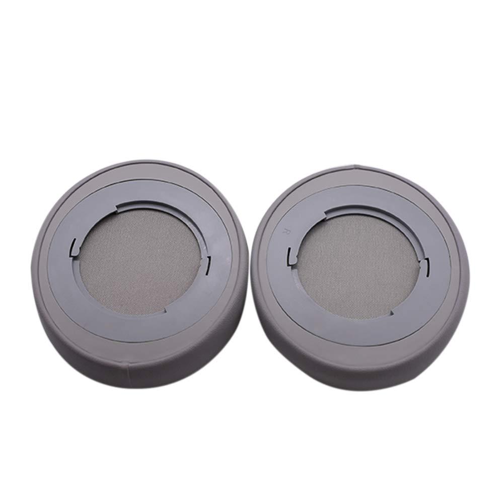 Deylaying Reemplazo Almohadillas para Razer Kraken Pro V2 Auricular Negro Almohadilla de Espuma Piel Suave Cojines de o/ído 1 par Ovalado