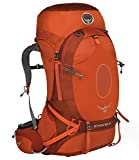 Osprey Atmos AG 65 Hiking Backpack Large Cinnabar Red
