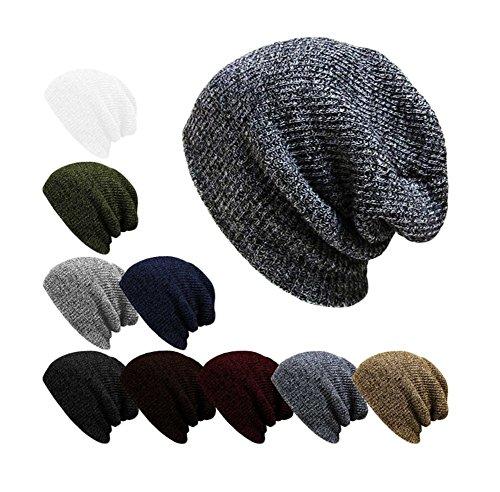 unisex Black cappello lana Da caldo WA Fashion YqpxOP