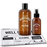 Mens Groin protection, Includes: Ball Deodorant and Performance Spray-on-body Toner (PH) + FREE Disposable shaving mats