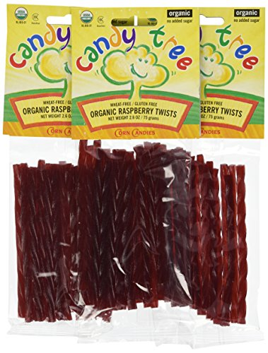 - Candy Tree Gluten Free Raspberry Twists, 2.6-Ounce Packages (Pack of 12)