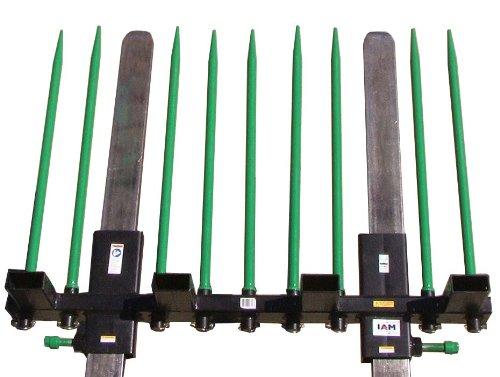 9 Spear Debris Fork Adapter for Pallet Forks