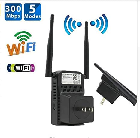 WiFi Repeater Signal Booster Wireless Internet Range Extender Access Point 300M