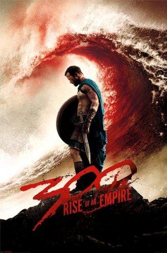 300 : Rise of an Empire – Framed映画ポスター/印刷( Teaser / Blood波) ( Size : 24