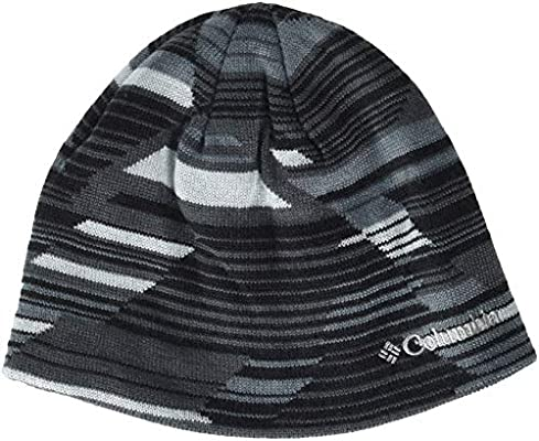 a4f845bde007ef Columbia Kid's Toddler/Youth Urbanization Mix Beanie Hats, Black Geo Lines,  Small/