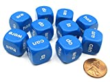 Being & Helping Verbs 16mm Dice