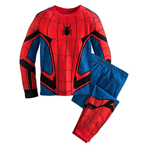 - 51mW wX0mNL - Marvel Spider-Man Costume PJ PALS for Boys
