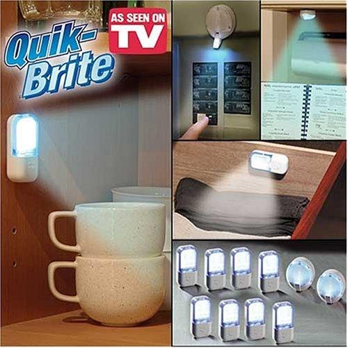 Quik Brite Deluxe Light Seen