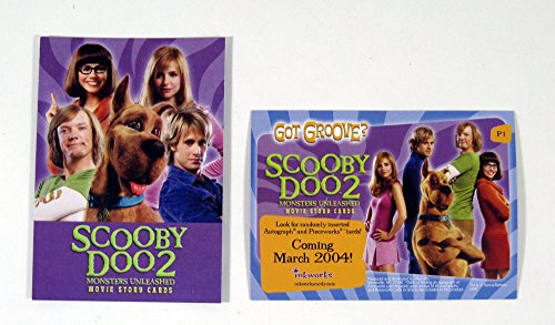 2004 Inkworks Scooby Doo 2 Monsters Unleashed Promo Card (P1) Nm/Mt (Scooby Doo 2 Monsters Unleashed Monsters Cards)