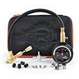 4x4 truck tires - Grit Performance Rapid Tire Deflator Kit with PSI Tire Pressure Gauge & Custom Foam Case + Chrome Caps & Valve Core Repair Tool | Quickly Deflate 4x4 Off Road Tires on Jeep, Truck, ATV, Motorcycle