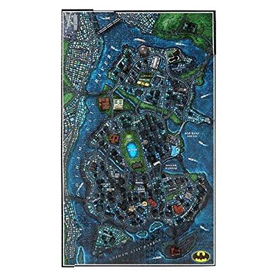 4D Cityscape Batman Gotham City 3D Time Puzzle (1000 Piece): Toys & Games