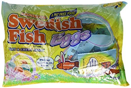 Swedish Fish Eggs 9.5 oz Bags - Pack of 3 -