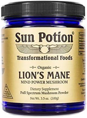 Sun Potion Lion s Mane Organic – Mind Power Mushroom 100g