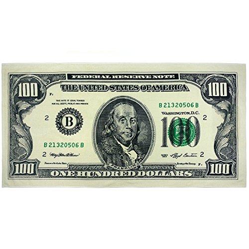 KAUFMAN - $100 Bill Beach, Bath, Pool, Sauna, Spa Towel,  30