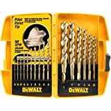DEWALT DW1956 Pilot Point 16-Piece Twist Drill Bit Assortment