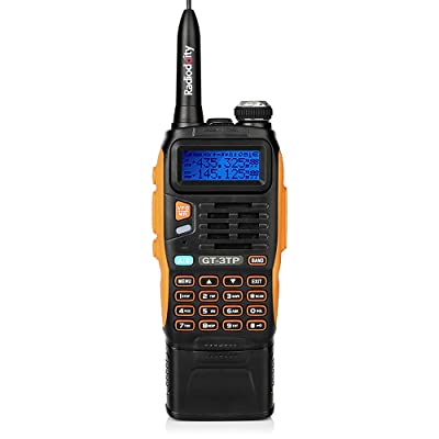 BaoFeng GT-3TP Mark-III Tri-Power 8/4/1W Two-Way Radio Transceiver with 7.4V 3800mAh Battery, Dual Band 136-174/400-520 MHz True High Power, Upgraded Chip, High Gain Antenna, Car Charger : Car Electronics