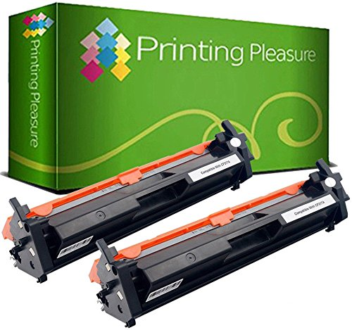 con Chip Printing Pleasure Pack 2 Unidades CF217A 17A T/óner Compatible con HP Laserjet Pro M102w M102a MFP M130a M130fw M130fn M130nw