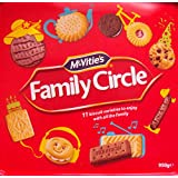 Mcvities Family Circle Tub 950gm