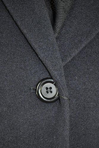 Damen Woll Mantel in Blau oder Schwarz (Art. Nr.: 202120-33020) Dunkelblau (300) bkyFVMx