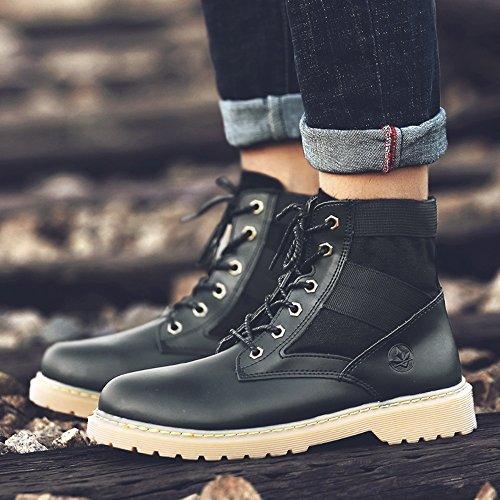 Men's Shoes Feifei Outdoor Martin Boots Keep Warm Fashion 3 Colors (Size Multiple Choice) (Color : 03, Size : EU/41/UK7.5-8/CN42)