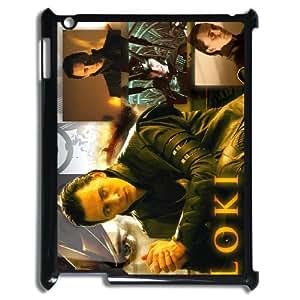 J-LV-F Cover Custom Case Thor Loki,customized Hard Plastic case For IPad 2,3,4