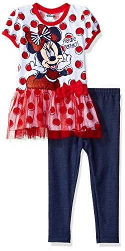 Disney Girls Minnie Legging Fashion