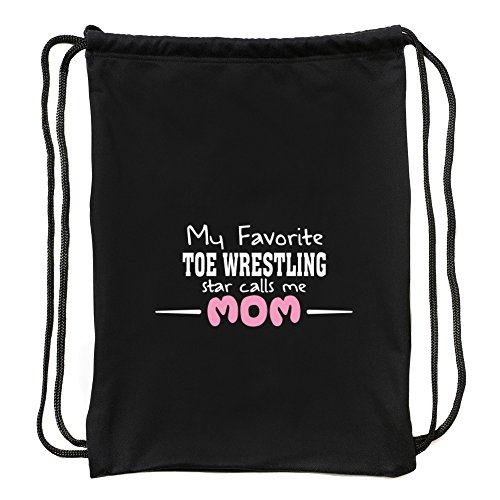 Eddany My favorite Toe Wrestling star calls me mom Sport Bag by Eddany